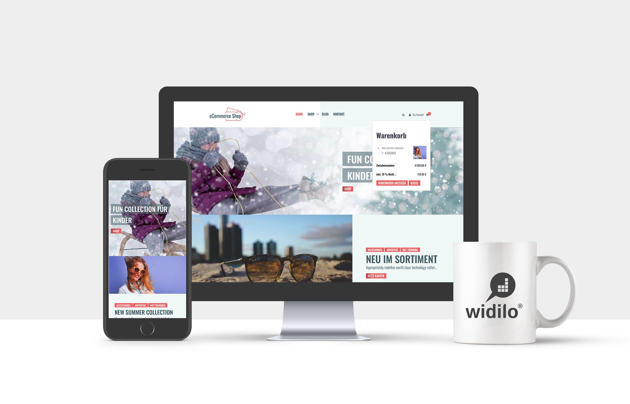 Münnecke & Vollmers GbR widilo, Onlineshops, E-Commerce, Demoversion, Best-Practice